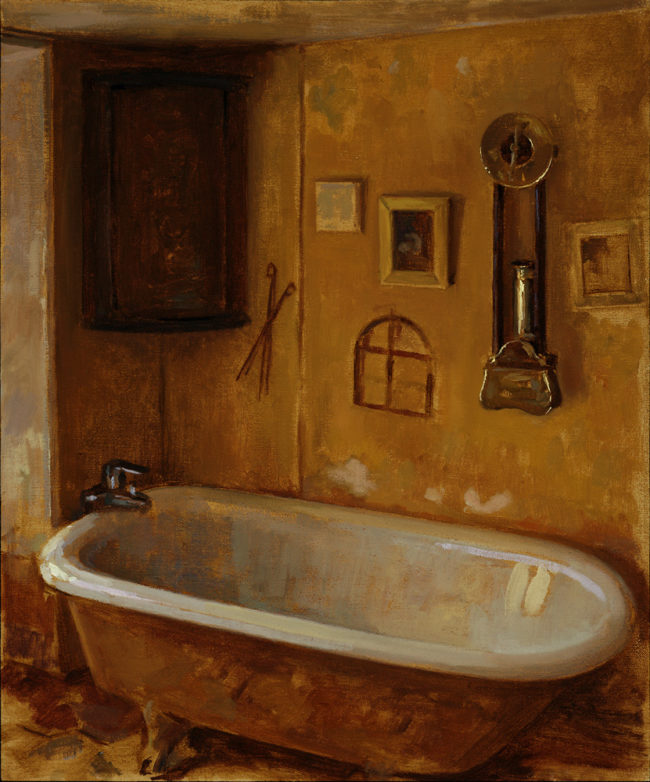 Baignoire - Oil on canvas - 2012