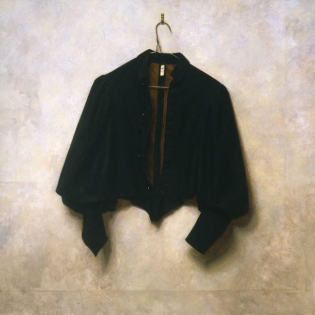 Black Jacket - 32x32 - oil on canvas - 2005