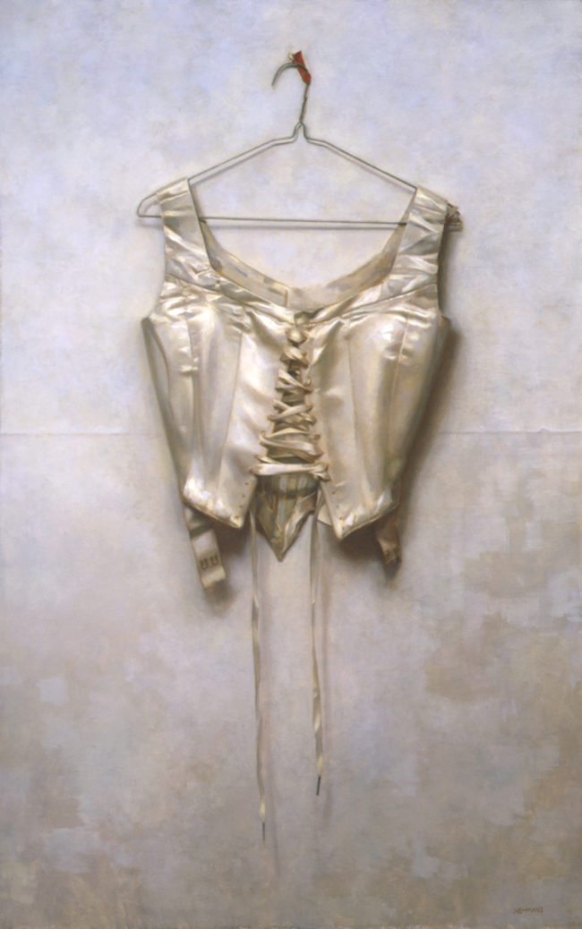 Corset - 38x24 - oil on canvas - 2005