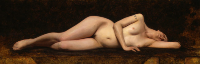 Deidre - 20x62 - oil on canvas - 2006