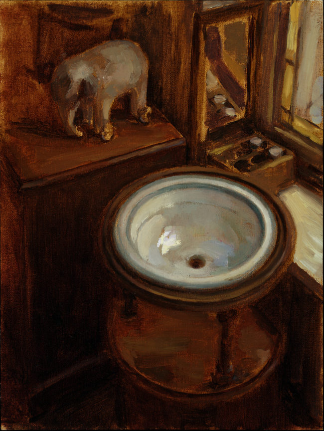 Dry sink - Oil on canvas - 2012