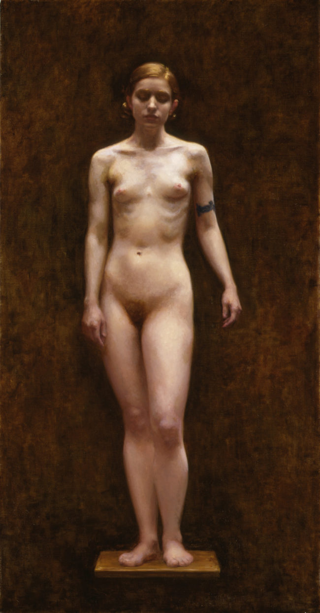 Elise - 50x26 - oil on canvas - 2001