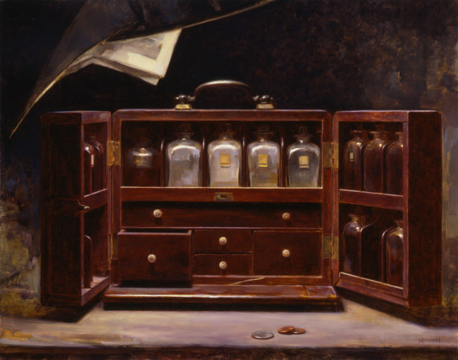 House Call - 15x19 - oil on canvas - 2003 - Private Collection