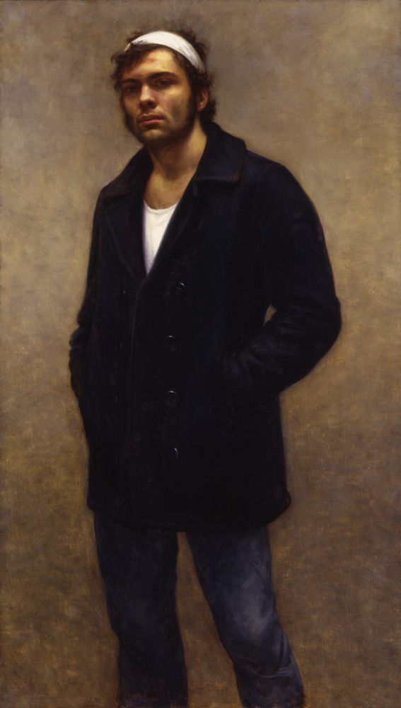 Michael - 56x32 - oil on canvas - 2001