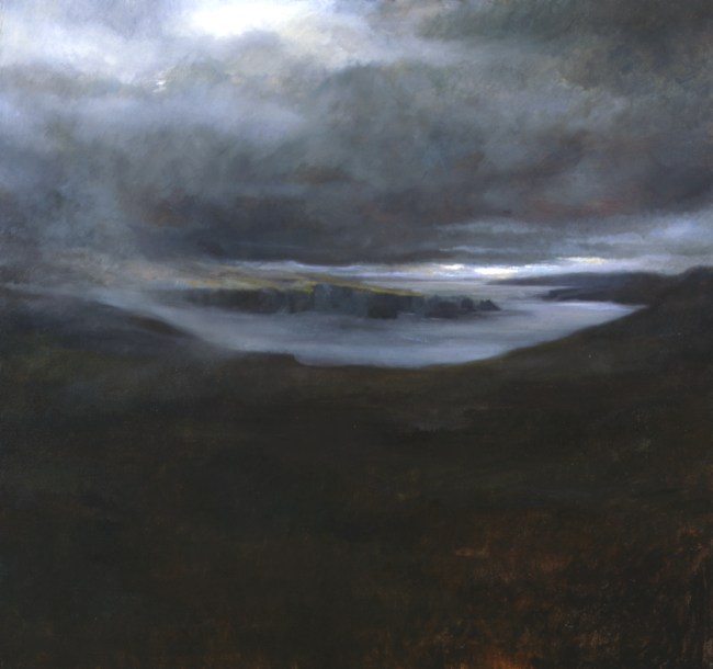 Ouessant - 32x32 - oil on canvas - 2002